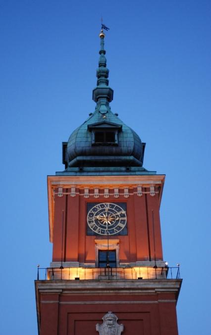 wieża zamku królewskiego w warszawie