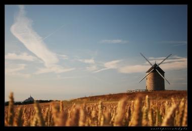 Moulin a vent de Moidrey et St Michele