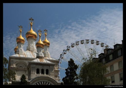 cerkiew i diabelski młyn