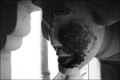 leper statue