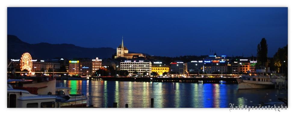 Geneve-Molard la nuit