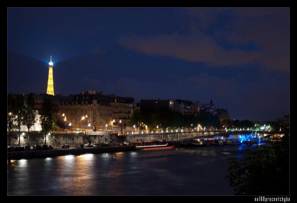 La Seine la nuit