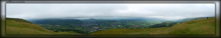 panorama na Abergavenny