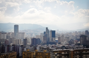 View from the El Teleferico de Caracas