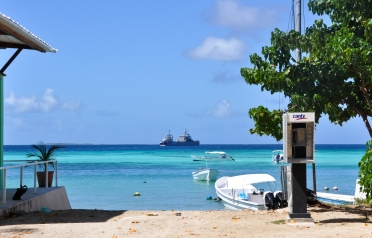 Two battleships guarding the whole archipelago day and night.