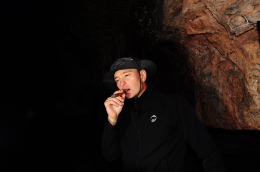 Reprezentant palaczy cygar z ramienia wujka Niezły Kapelusz ;)