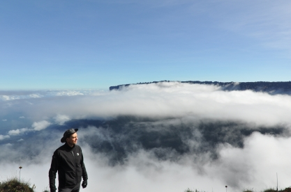 View at the Kukenan from Roraima's window.