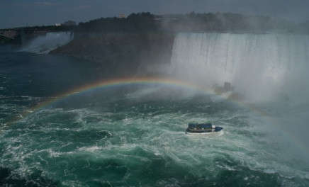 the mist and the rainbow