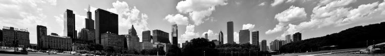 Panorama @ Buckingham Fountain