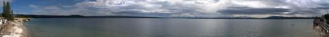 jezioro Yellowstone / Yellowstone lake