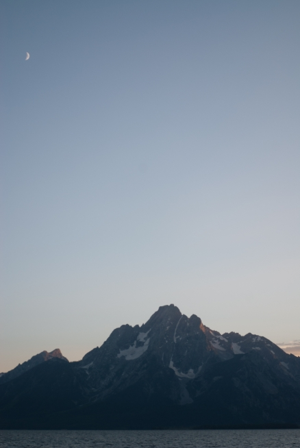 Mt. Moran and The Moon 02