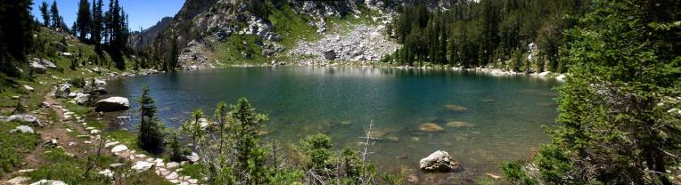 Surprise Lake panorama
