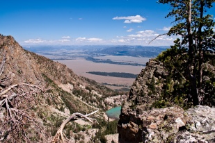 View from The Disapointment Peak over the Delta Lake