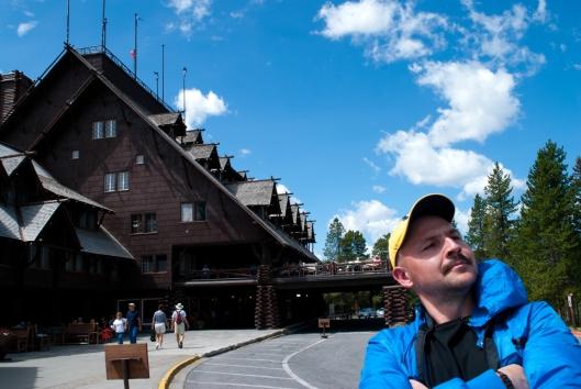 Old Faithful Inn and me