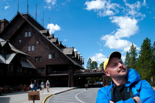 Old Faithful Inn and me
