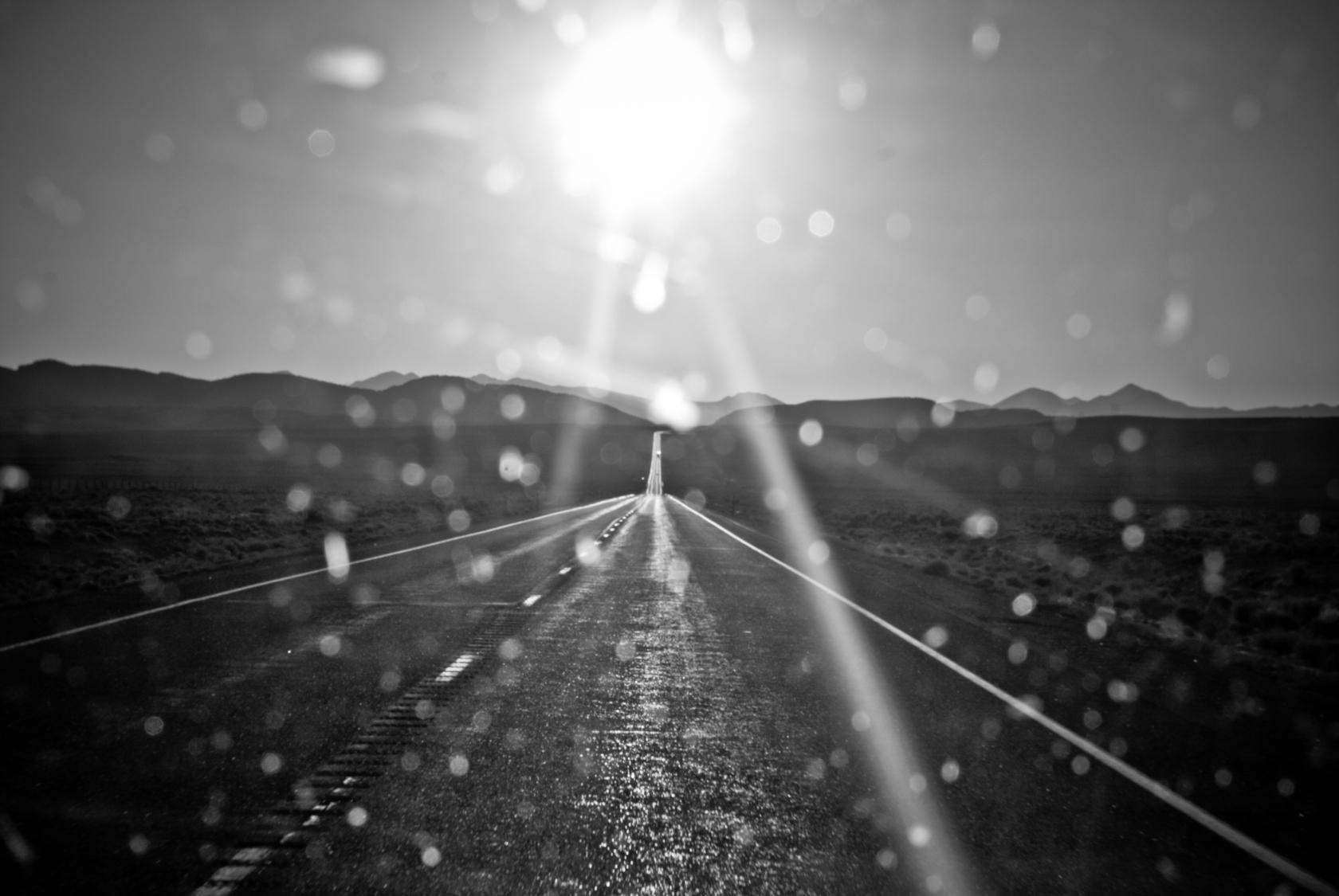 brudna szyba / a dirty windscreen