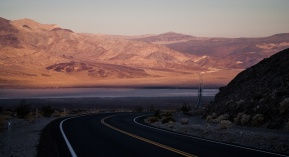 Nadeau Trail and Panamint Valley