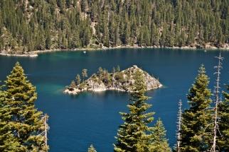 Wyspa Fannette / Fannette Island in Lake Tahoe