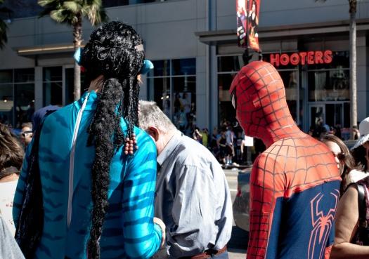 Avatar and Spider Man