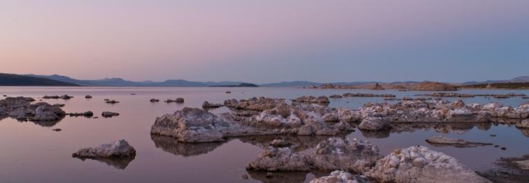 Mono Lake i spokój / Mono Lake and calmness