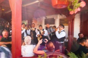 Olvera Street Market - a mariachi band