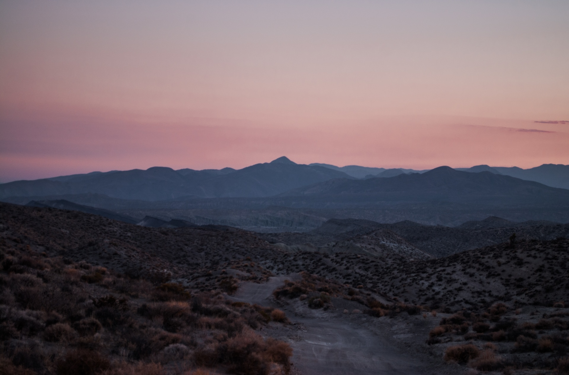 droga o zachodzie