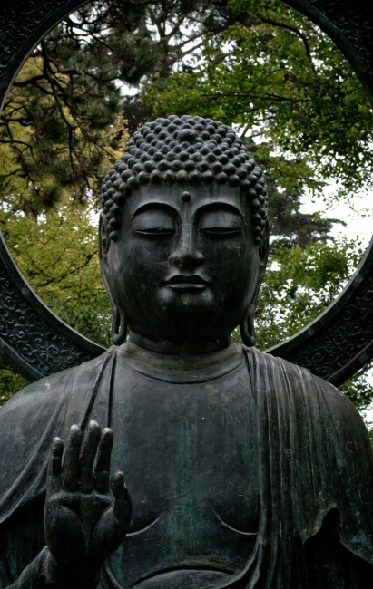 Budha in The Japanease Tea Garden