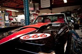 a devil's car