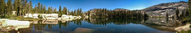 Lower Sunrise lake - viewing east