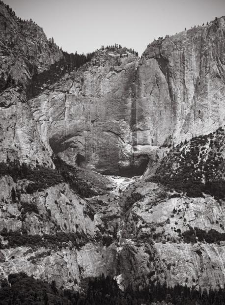 dry Yosemite Falls