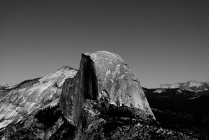 Half Dome - view from The Sentinel's Dome