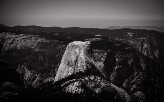 Half Dome - view from The Clouds Rest