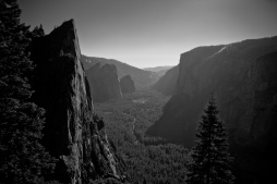 Yosemite valley - view from the Sentinel Dome