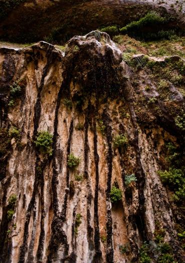 a weeping rock near Emarald pools
