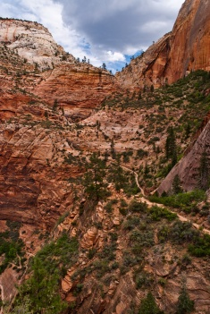 view from the Hidden Canyon Trail