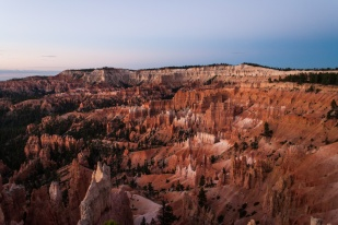 Bryce Canyon - Queens Garden - view from the Sunrise point