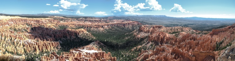 Bryce Canyon Panorama 01 - 5 Images