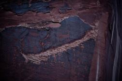 pictoglyphs along the Potash rd