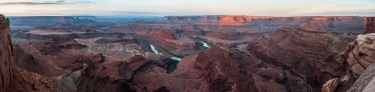 Dead Horse Point - Just after the sunrise
