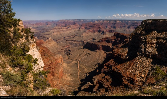 Grand Canyon - Stitched Panorama - 6 images