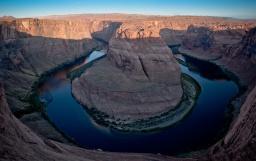 Horseshoe Bend - Stitched Panorama - 5 images