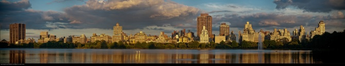 NY - Central park panorama - 7 images