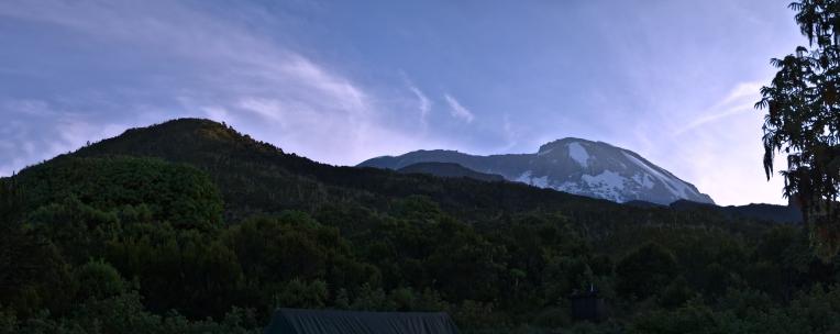 Kilimanjaro - panorama - 004 - Camp no 1