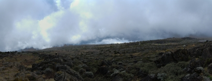 Kilimanjaro - panorama - 004 - Camp no 3