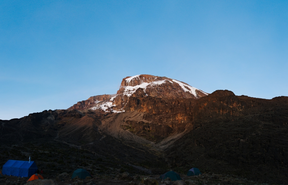 Kilimanjaro - panorama - 005 - Camp no 3