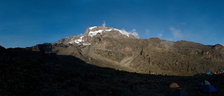 Kilimanjaro - panorama - 011 - Camp no 4
