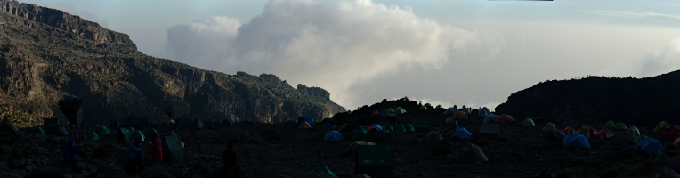 Kilimanjaro - panorama - 012 - Camp no 4