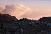 Sunset in Barranco Camp