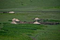 Maasai village near Ngorogoro crater