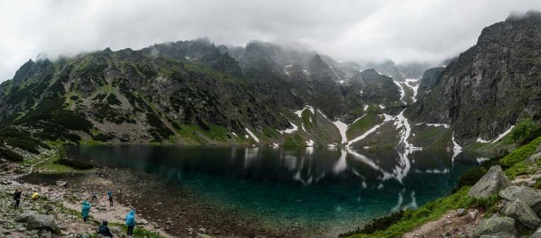 Czarny Staw pod Rysami - panorama-5 - 16 images
